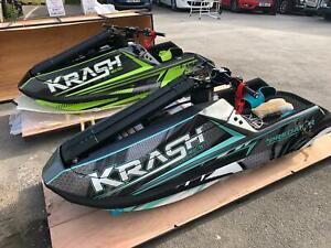 Krash industries jet ski stand up Predator model -Finance available - PX welcome
