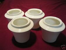 4x Vase Vasen Tischvase Zuckerdose Dekoration Hutschenreuther Bone China 4er Set