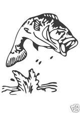 Fisch Aufkleber Sticker Angeln Angelsport m179