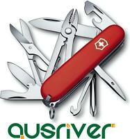 Victorinox Swiss Army Knife Deluxe Tinker 1.4723 16-in-1 91mm Plierswith