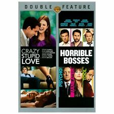 Double Feature with Crazy, Stupid, Love and Horrible Bosses (DVD) Brand New
