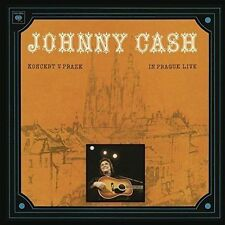 JOHNNY CASH Koncert V Praze In Prague Live CD BRAND NEW