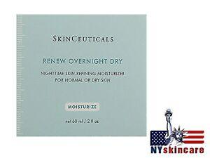 Skinceuticals Renew Overnight Dry 60ml(2oz) Normal Dry Skin BRAND NEW