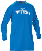 FLY RACING WINDPROOF TECHNICAL MOTO JERSEY BLUE SIZE X-LARGE XL 370-801X