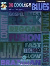 30 Cool Ways to Play the Blues Jazz Book and Cd New 000030449