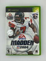 Madden NFL 2004 - Original Xbox Game - Tested
