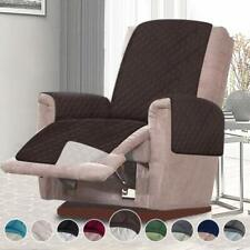 Recliner Cover Lazy Boy Chair Furniture Pet Hair Kids Brown Oversized Wide30