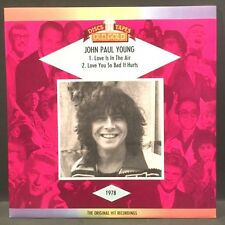 John Paul Young - Love is In the Air / Love You So Bad Old Gold U.K. 45rpm w/PS