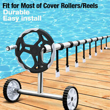 KF_ 1 Set Pool Solar Cover Reel Attachment Kit Straps for In Ground Swimming P