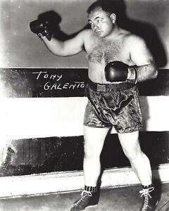 TONY GALENTO 8X10 PHOTO BOXING PICTURE