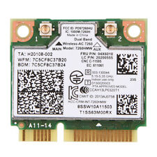 intel 7260 ac 2.4g + 5 mini pci e dual band bluetooth 4.0 drahtlose wlan karte