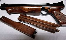 COMFY BLACK WALNUT WOOD Lacquer Finish PUMP FORE ARM for Crosman 1322 1377 2289