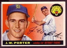 1955 TOPPS J.W. PORTER  CARD NO:49 EXMINT PLUS CONDITION