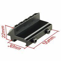 Chasse Cible Montage Décalé à 45 Degrés au Rail Picatinny ou Tisserand de 20 mm