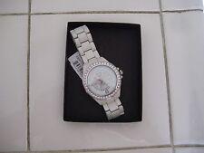 Rhino-marc-ecko-E8M119MV-Pinwheel-SilverTone-Crystal-White Women's Watch $75