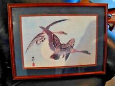 Chinese Painting of 2 Geese  Signed - Untitled
