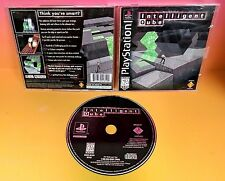 Intelligent Qube (Sony PlayStation 1, 1997) ps1 Cube CIB Complete Rare