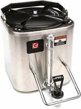 Grindmaster-Cecilware CS-LL Radiant Heated Shuttle, 1.5-Gallon, Stainless Steel