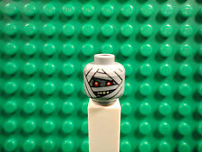 Lego mini figure 1 Light bluish gray head with double sided mummy face NEW