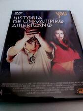 "DVD ""HISTORIA DE UN VAMPIRO AMERICANO"" COMO NUEVO LUIS ESTEBAN CARMEN ELECTRA"