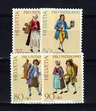 SUISSE SWITZERLAND Yvert  n° 1343/1346 neuf sans charnière MNH