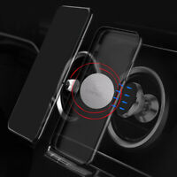 2pcs New Metal Plate Sticker Replacement Magnetic Car Mount Magnet Phone Holder