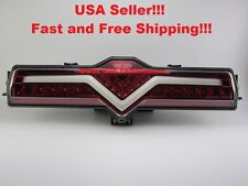 Subaru BRZ Clear/Red Lens LED Rear Bumper Reverse 4th Brake Fog Light Lamp