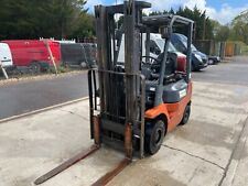 More details for bt gas forklift gt18 year 2003 done 4529 hours good condition works all good