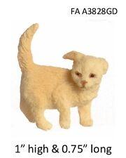 Golden Retriever puppy - 1:12 Scale Dollhouse Miniature Pet Dog