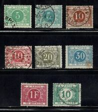 Belgium, Postage Due lot, mixed condition