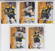 18/19 UD MVP Boston Bruins 20th Anniversary Retro 5 cards - Donato RC Rask +