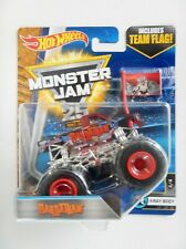 Barbarian Monster Jam Truck (Hot Wheels)(2017)(Team Flag)
