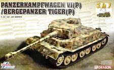 Dragon 1/35 Panzerkampfwagen VI (P) / Bergepanzer Tiger (P) (2 in 1) # 6869