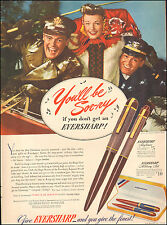 1942 Vintage ad Eversharp Pens Christmas Case Display Soldiers Photo (041717)