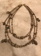 VSA Virgin Saints And Angels Gold Tribal Milagro Necklace