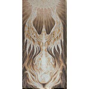 Spirit bead embroidery kit *** FREE SHIPPING white firebird large beading kit
