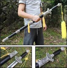 "Handmade Chinese Sword ""Tai Ji Sword""(劍) Stainless Steel Blade Alloy Fittings"