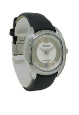 Bulova Percisionist 96R140 Women's Analog Date Diamond Mother of Pearl Watch
