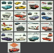 17 HISTORICAL PRINT ARTS - 17 Kunstdrucke Musclecar 1964-1978 DODGE - US Import