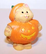 1995 Hallmark Cameron in Pumpkin Costume New Merry Miniature Halloween Qfm8147