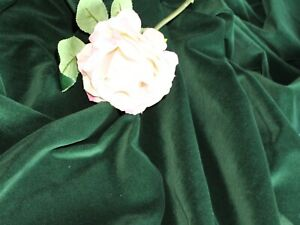 1 Metre of Dress Making Cotton Velvet - Choose From 24 Different Colours