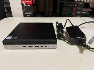 HP ELITEDESK 800 G4 DM INTEL i7-8700T 2.40GHZ 8GB 256GB SSD BT UHD630 2DAY FEDEX
