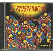 GIGI D'AGOSTINO - Il programmino - 2 CD NEAR MINT CONDITION 2003