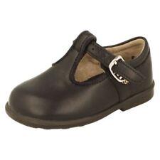 Chaussures habillées bleus en cuir pour garçon de 2 à 16 ans