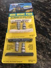 KOOL-STOP BMX BRAKE PADS WHITE/BLACK