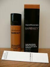 New GENUINE Bare Minerals BARESKIN 18 WALNUT 30ml Brightening Serum FOUNDATION