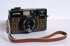 Minolta Point & Shoot Film Cameras with Built - in Flash