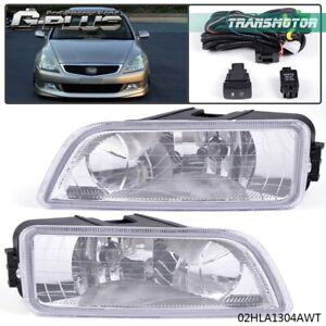 For 2003 2004 2005 2006 2007 Honda Accord Acura TL 4DR Bumper Driving Fog Lights