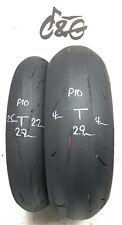 Bridgestone Rs10   120/70zr17 & 190/55zr17   Pair Part Worn Motorcycle Tyres P10