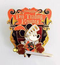 Disney DLR Disneyland Pin Trading Nights Knights Shield Mickey Mouse Pin 67179